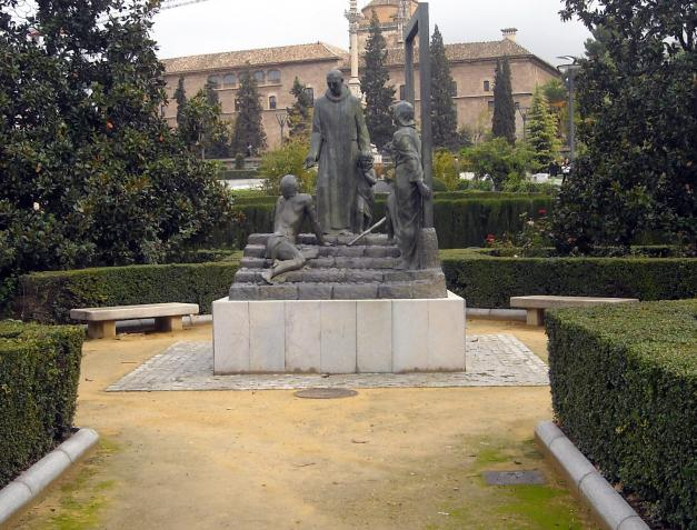 Jardines del triunfo granada for Jardin de gomerez granada