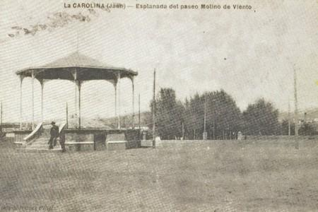 Antigua explanada molino viento la carolina for Piscina un molino de viento y una sombrilla