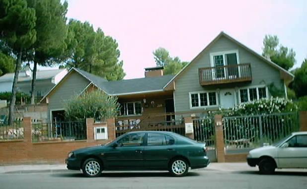 Casa de madera begues barcelona for Foro casas de madera