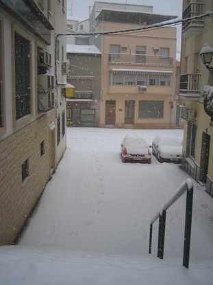 Nevada 2006 calle nieves villanueva del arzobispo ja n - El escondite calle villanueva ...