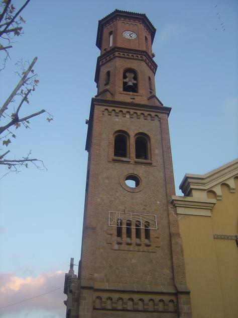 Campanario de la catedral sant feliu de llobregat - Temperatura sant feliu de llobregat ...