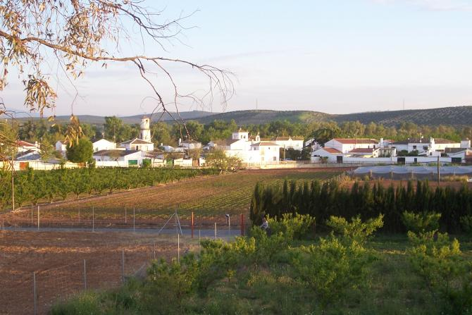 Los villares de andujar vista panoramica los villares de - Tiempo los villares jaen ...