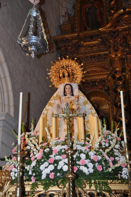 Nuestra se ora del rosario patrona luque c rdoba - Persianas lavirgen cordoba ...