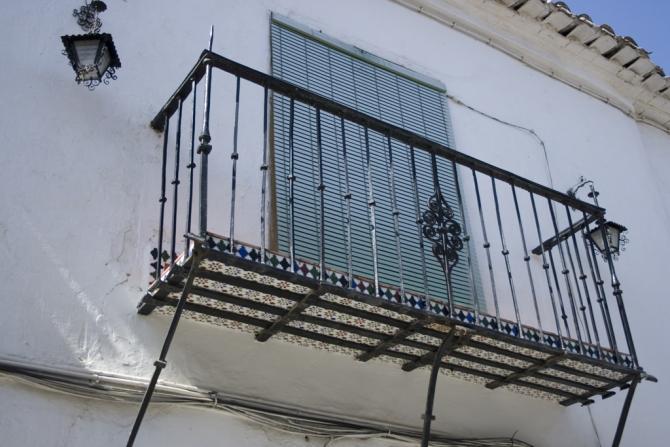 Balconada de la casa con las gabias for Casa rural la balconada