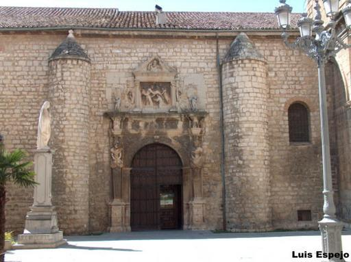 Iglesia de san ildefonso puerta lateral jaen for Puerta 8 san marcos