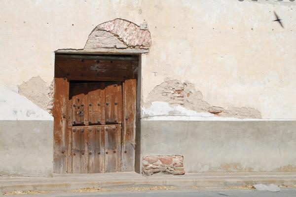 Antigua puerta de la casa del sr cura cabezas del pozo for Puertas blindadas antigua casa gutierrez
