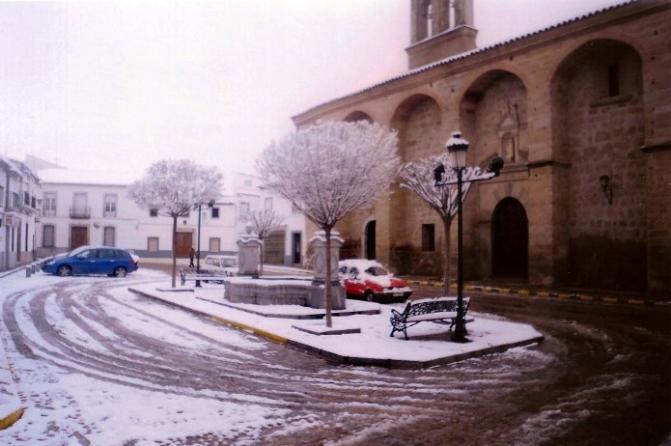 Nieve Convento de las M M Concepcionistas, HINOJOSA DEL DUQUE