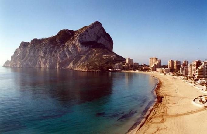 Playa de la fossa calpe calp for Hoteles en calpe playa