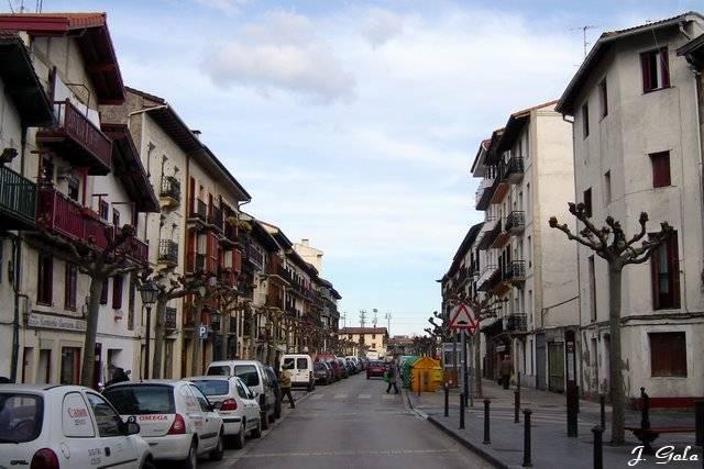 Calle santiago desde juncal 2007 12 19 irun - Calle santiago madrid ...