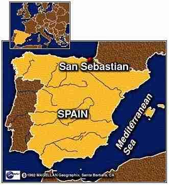 Ubicacion de san sebastian en espa a san sebastian donostia - Clima en donostia san sebastian ...