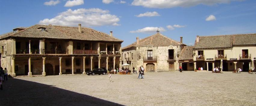 Plaza mayor medieval pedraza - La olma de pedraza ...