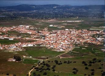 Vista aerea casas de don pedro - Casas de don pedro badajoz ...