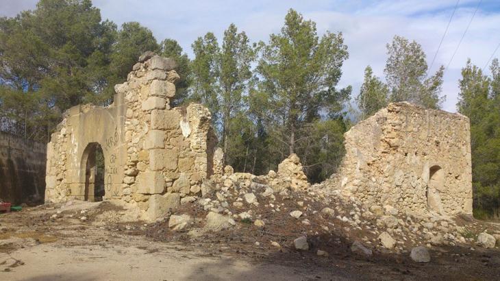 Ermita rom nica de sant crist fol als casals l 39 olleria - El tiempo olleria ...