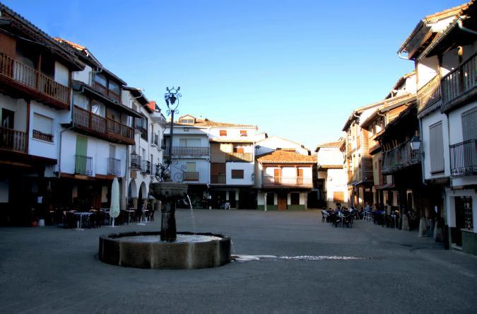 Plaza villanueva de la vera for La vera caceres
