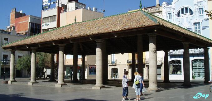Lateral De La Porxada Granollers Barcelona