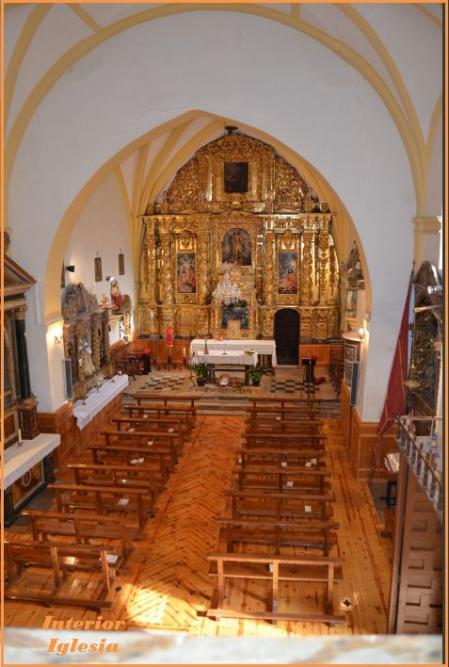 Interior iglesia santiba ez de ayllon - Hoteles en ayllon ...