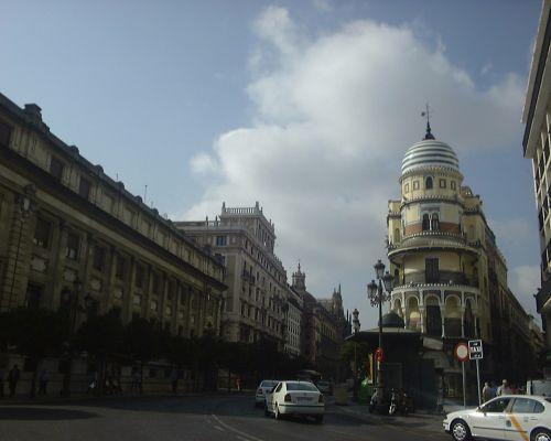 Avenida de la constitucion desde plaza nueva sevilla - El tiempo en sevilla la nueva ...