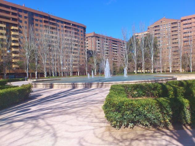 Jardines de la taifa saraquista zaragoza for Dormir en zaragoza centro