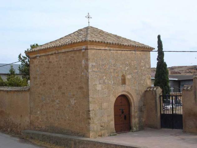 Ermita de la soledad y puerta del cementerio alconchel de for Cementerio parque jardin la puerta