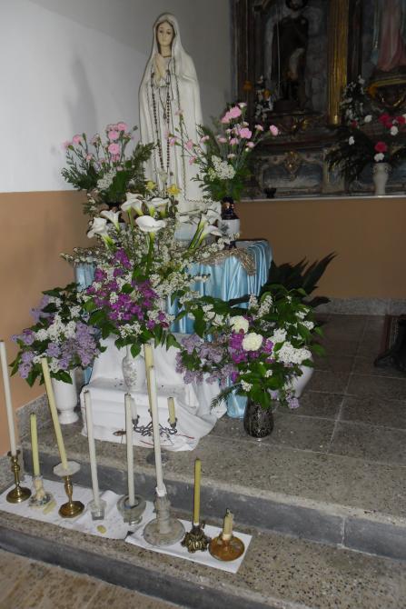 Decoracion Altar Para La Virgen ~ Altar de la Virgen de F?tima para la novena, BONELLA
