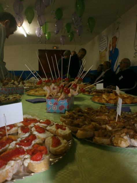 Fiesta de tapas madrid for Tapas frias para fiestas