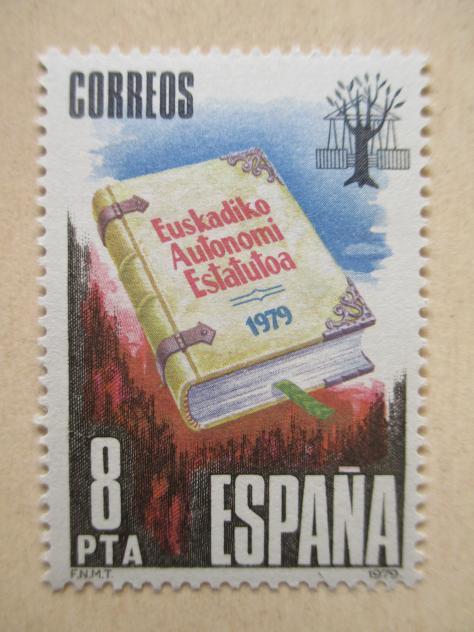 Estatuto de autonom a en un sello de 1979 gernika lumo - El tiempo gernika lumo ...