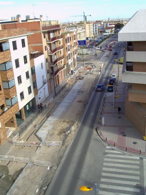 Construcci n del paseo ciudadano casetas zaragoza - Construccion zaragoza ...