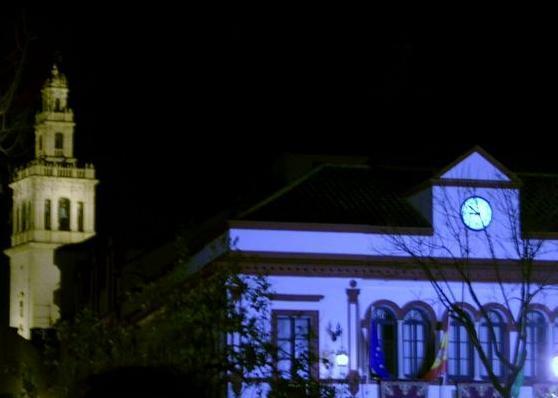 Iluminacion nocturna lebrija sevilla - Iluminacion sevilla ...