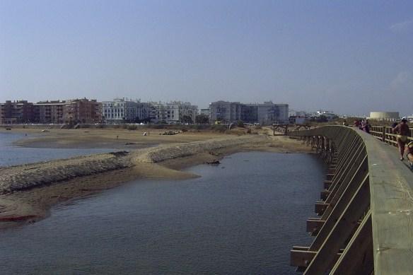 El puente de madera y la punta del moral isla cristina - Maderas moral ...