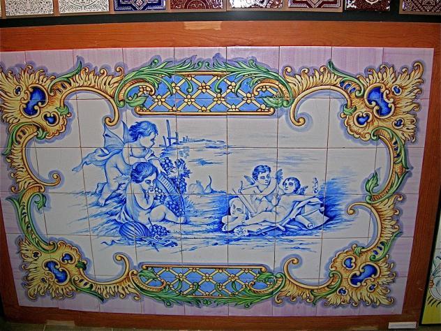 Mosaico museu del taulell museo del azulejo onda - Azulejos onda castellon ...