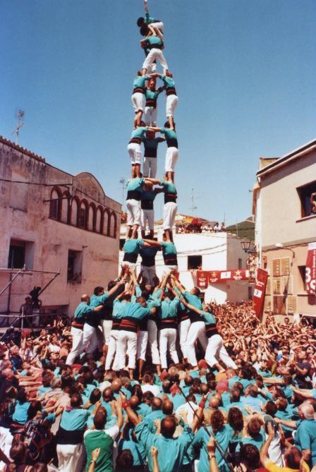 Castellers de vilafranca la bisbal del penedes - Tiempo la bisbal del penedes ...