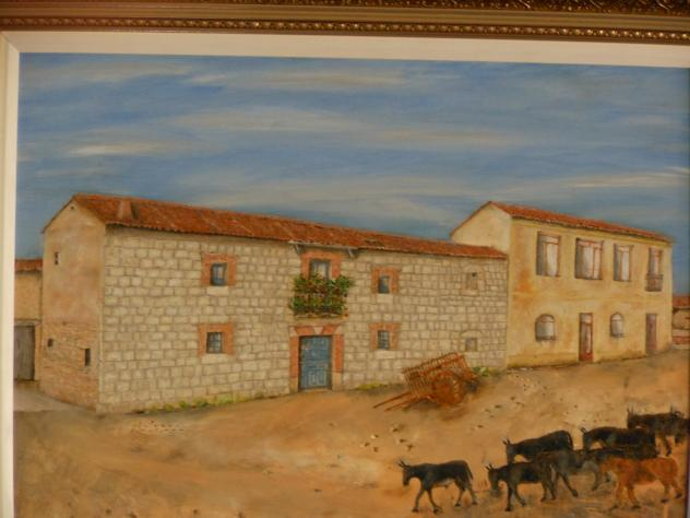 Fachada casa de piedra de siller a adradas - Piedra de silleria ...