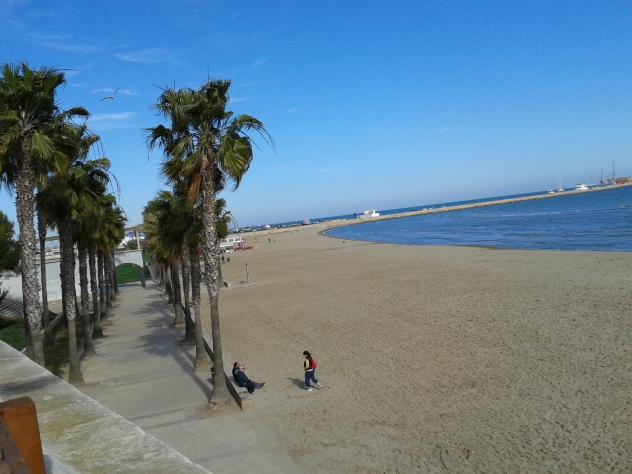 Aspecto general de la playa de garb sant carles de la for Sant carles de la rapita fotos
