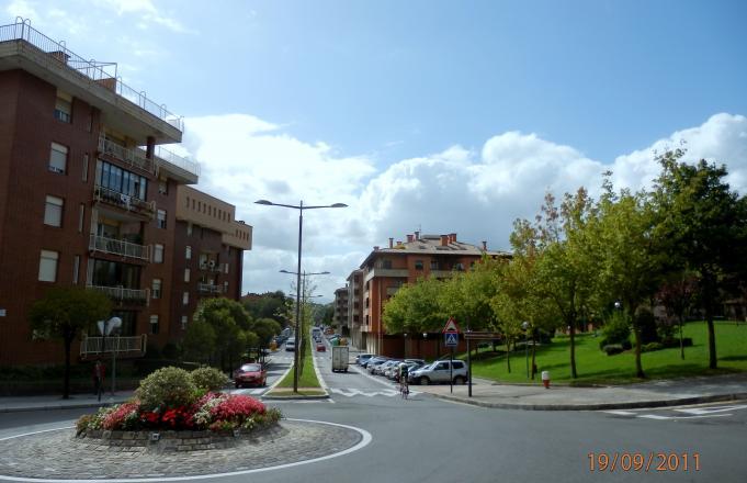 Calle mestikabaso desde la rotonda gernika lumo - El tiempo gernika lumo ...