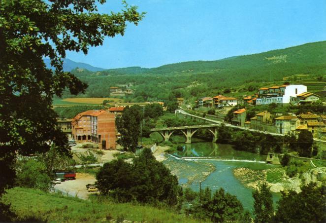 Vista parcial puente y dem s sant quirze de besora - El tiempo en sant quirze ...