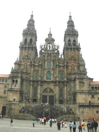 Catedral plaza obradoiro n unsain santiago de compostela for Oficina correos santiago de compostela