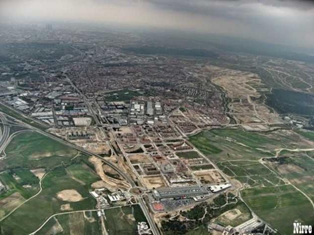 Vista aerea de la ciudad san sebastian de los reyes - Cristalerias en san sebastian de los reyes ...