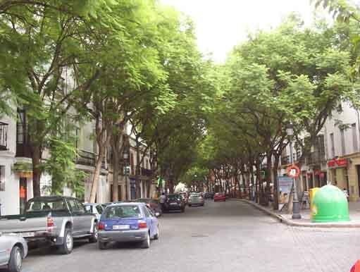 Calle porvera jerez de la frontera for Calle prado jerez madrid