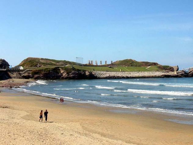 Playa foto armando salinas asturias - Hotel salinas asturias ...