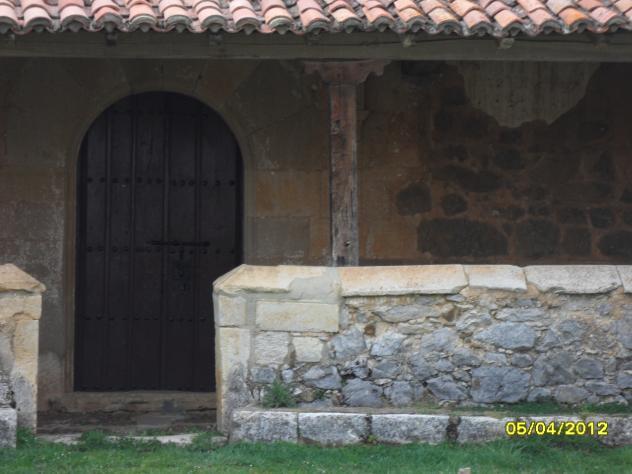 Puerta tapia y tejadillo de la iglesia cantoral - Tejadillo para puerta ...