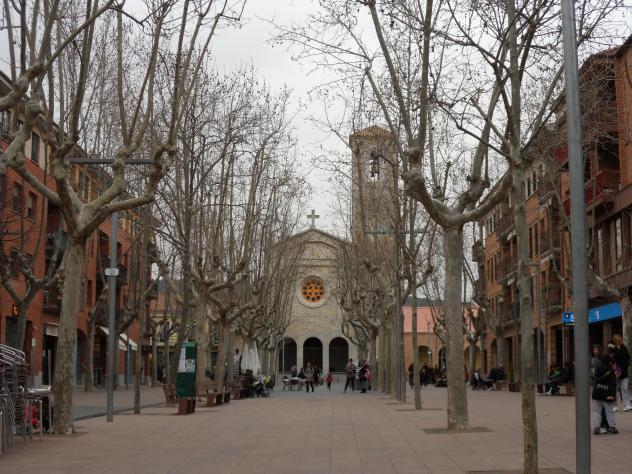 Paseo de la iglesia begues barcelona - Temperatura en begues ...
