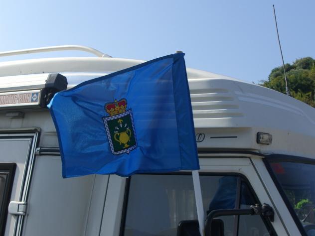 Bandera con el escudo de siero pola de siero - El tiempo en siero asturias ...