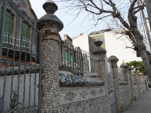 Muros modernistas de las casas molins sant feliu de llobregat - Casas sant feliu de llobregat ...