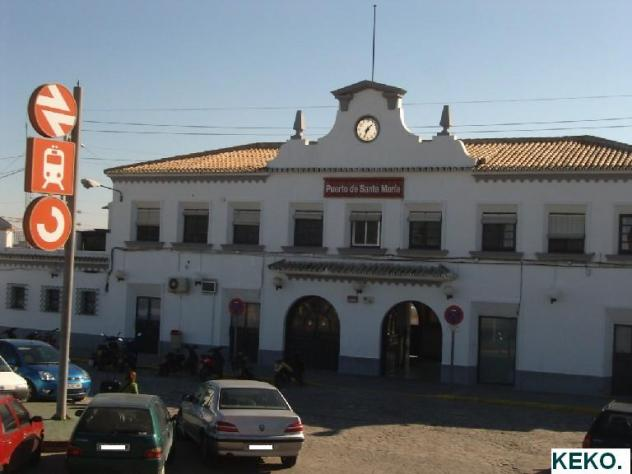 La estaci n de tren el puerto de santa maria - Estacion de tren puerto de santa maria ...