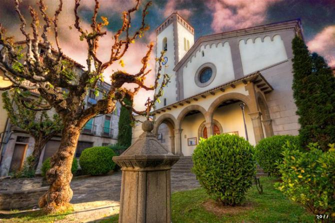 La iglesia sant quirze de besora - El tiempo en sant quirze ...