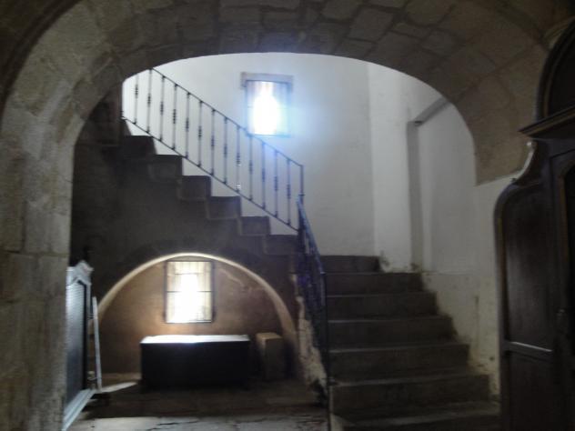 Escalera de piedra trujillo c ceres - Escalones de piedra ...