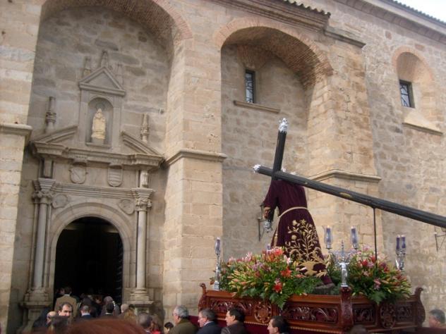 Entrada en el Convento de las Concepcionistas, HINOJOSA DEL DUQUE