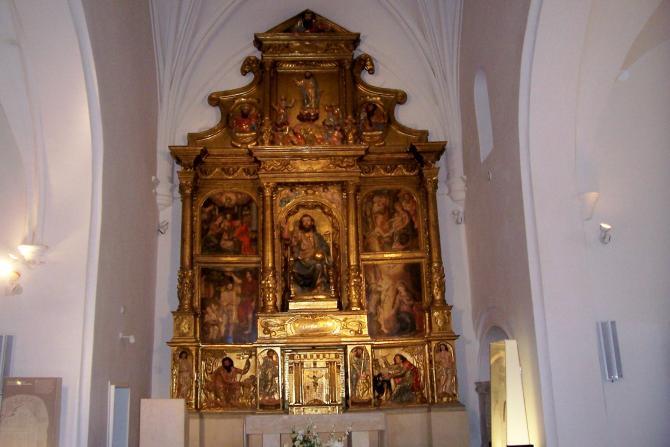 Retablo de la Iglesia de Palat del Rey, LEON