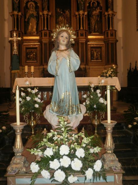 Virgen Niña, virtudes de la infancia de María, HINOJOSA DEL DUQUE