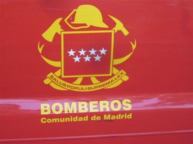 Escudo del cuerpo de bomberos de la comunidad madrid for Donde esta la comunidad de madrid